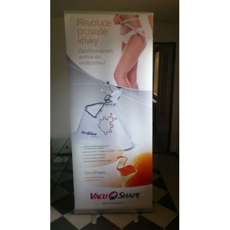 Roll-up banner VacuShape 850x2000mm