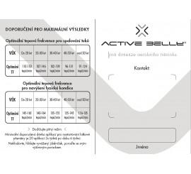 Zákaznická průkazka Active Belly